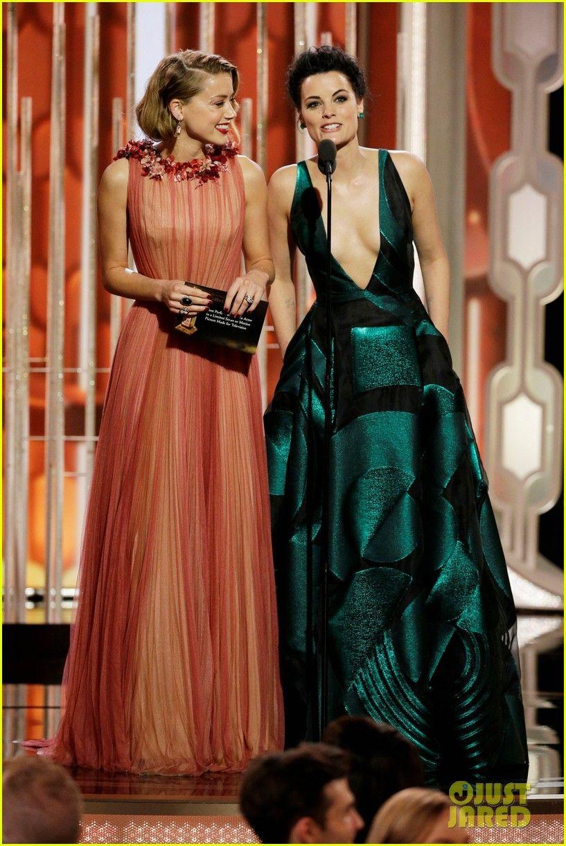 Amber Heard Supports 'Danish Girl' at Golden Globes 2016 | amber heard golden globes 2016 03 - Photo