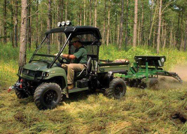 John Deere Frontier Food Plot Seeder - John Deere Frontier Food Plot Seeder Off-Road Vehicles