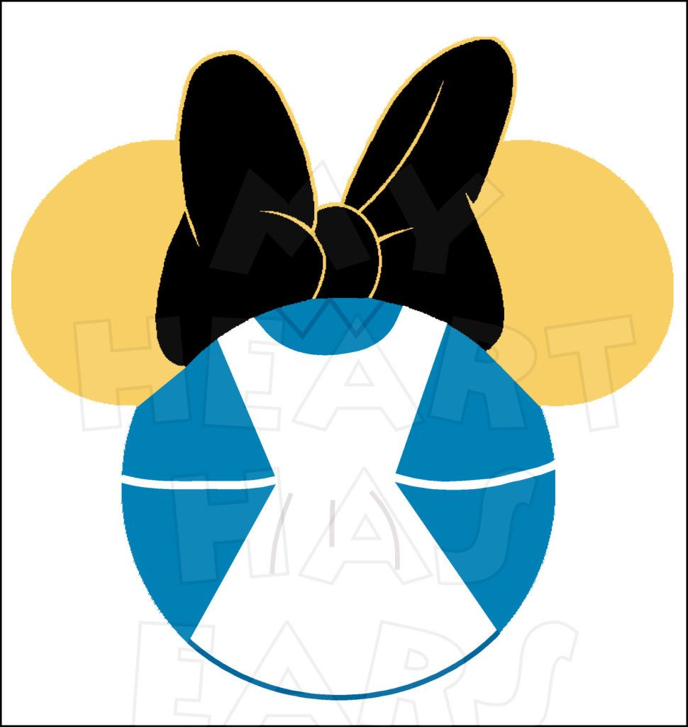 Minnie mouse dressed as alice in wonderland instant download minnie mouse dressed as alice in wonderland instant download digital clip art diy iron on transfer biocorpaavc