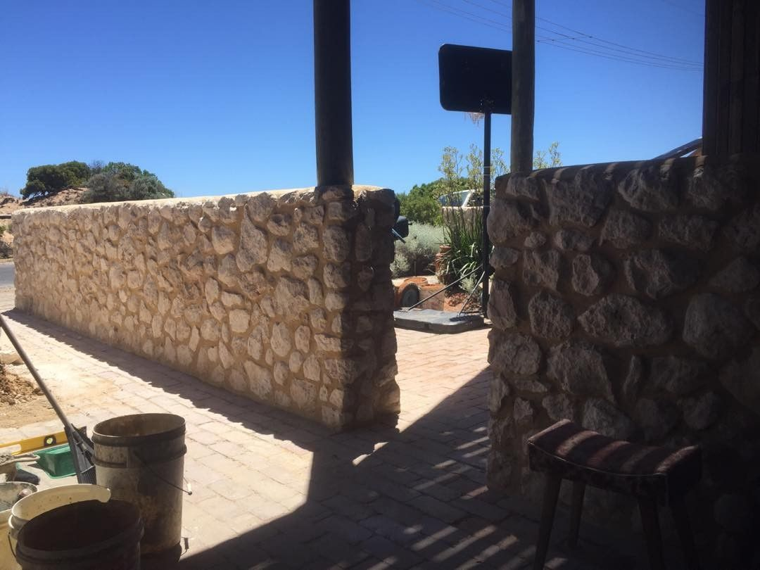 Limestone walls Esplanade Aldinga Beach