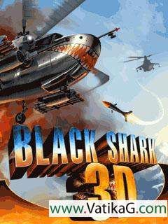 Download Black shark 3d java mobile game - Action and
