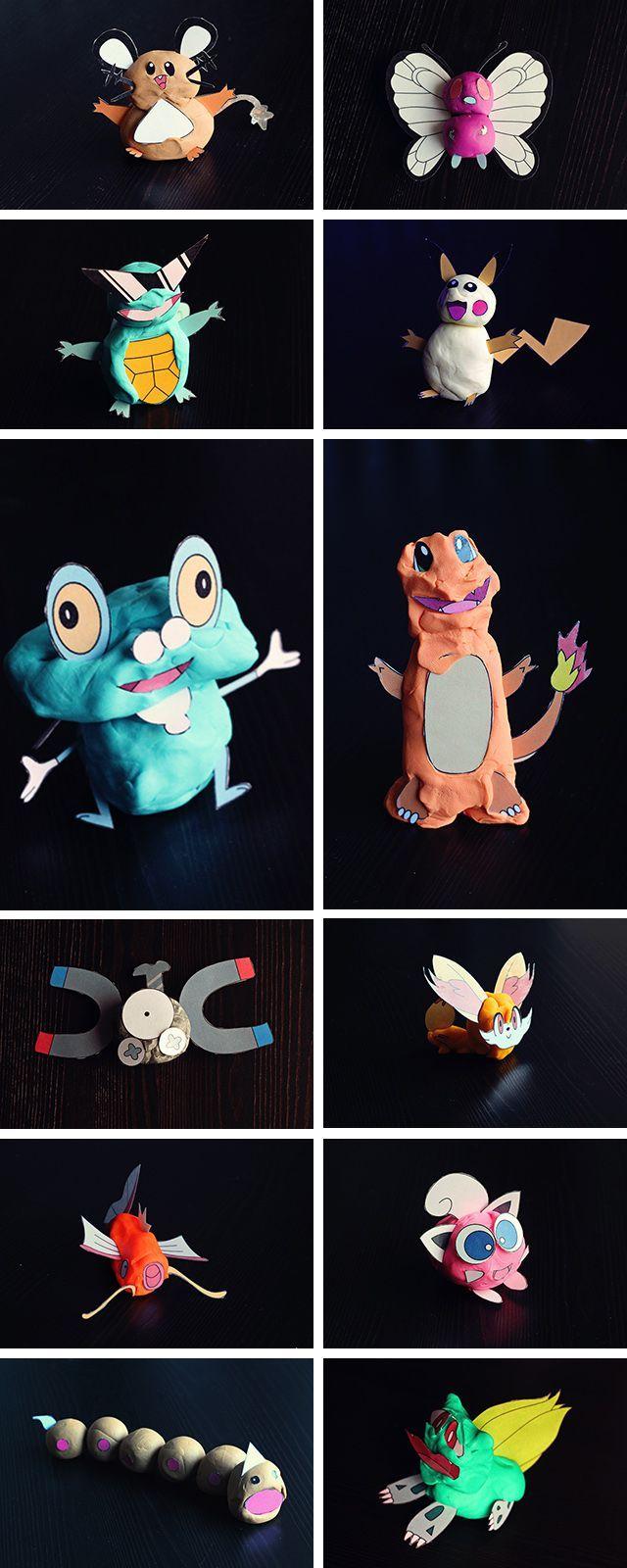 Pokemon Klei Printables Pokemon Knutselen Voor Jongens Knutselen Voor Volwassenen