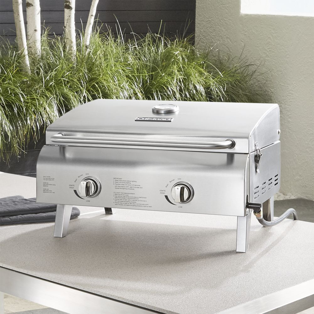 Cuisinart chef style 2burner gas grill gas grill