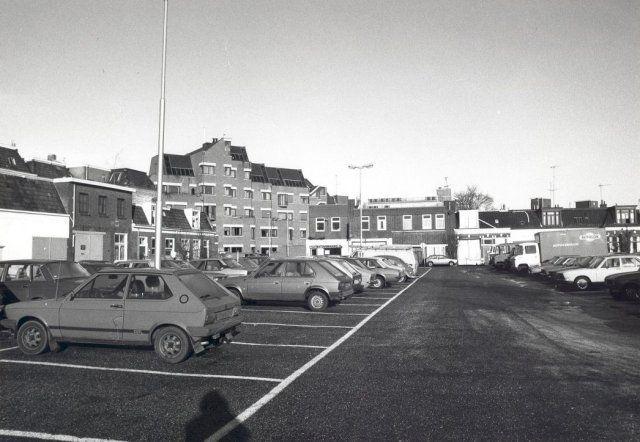 Klanderijstraat, 1980. Bron: Historisch Centrum Leeuwarden - Beeldbank Leeuwarden