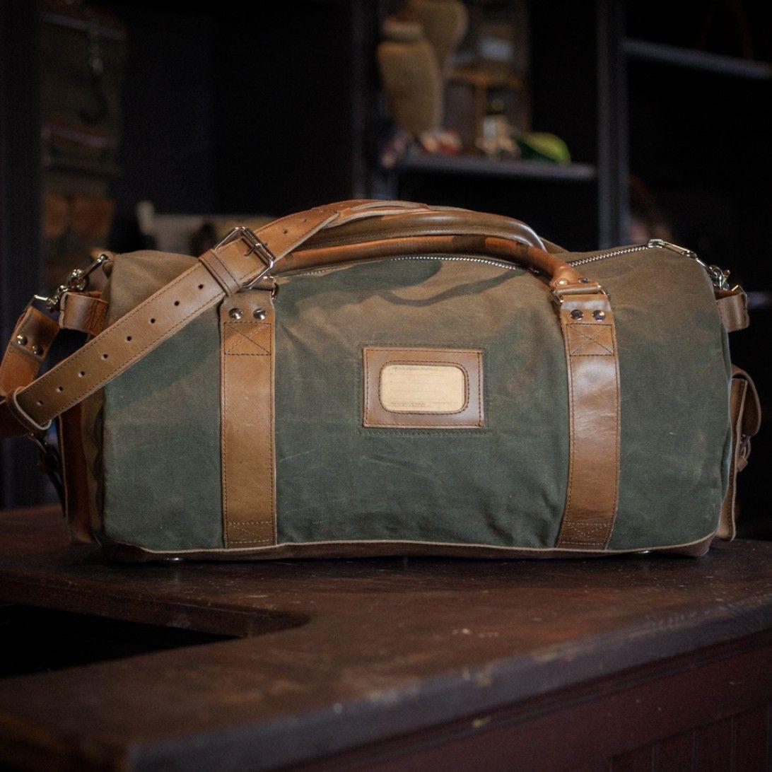 1da2608a7ee ... buy popular f79ec 33ce2 Elkton Large Duffle Travel Bag - Waxed Canvas  by Buffalo Jackson Trading ...