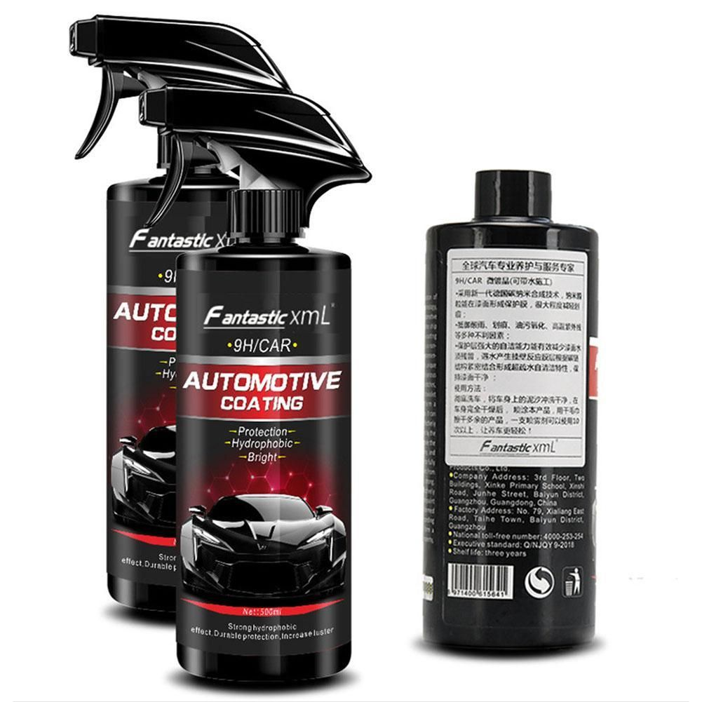 Ceramic Spray Coating Car Polish Spray Sealant Top Coat
