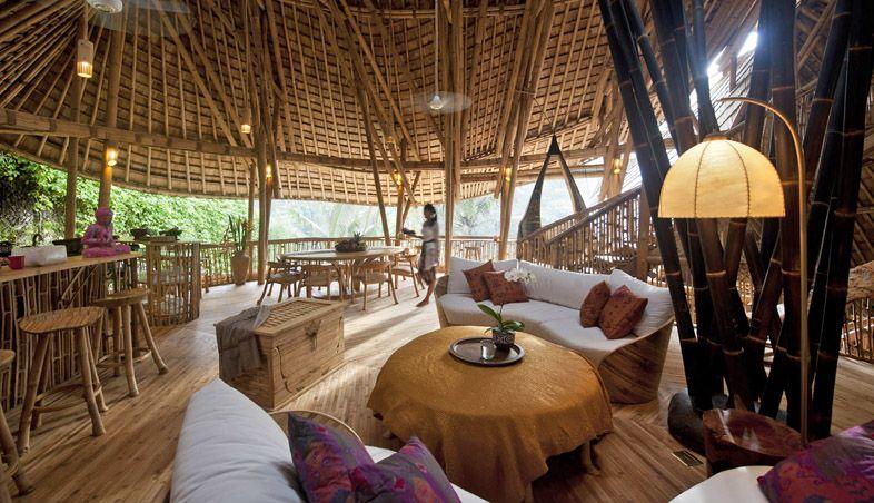 Green Village - construções em bambu #arquitetura #sustentabilidade #bambu