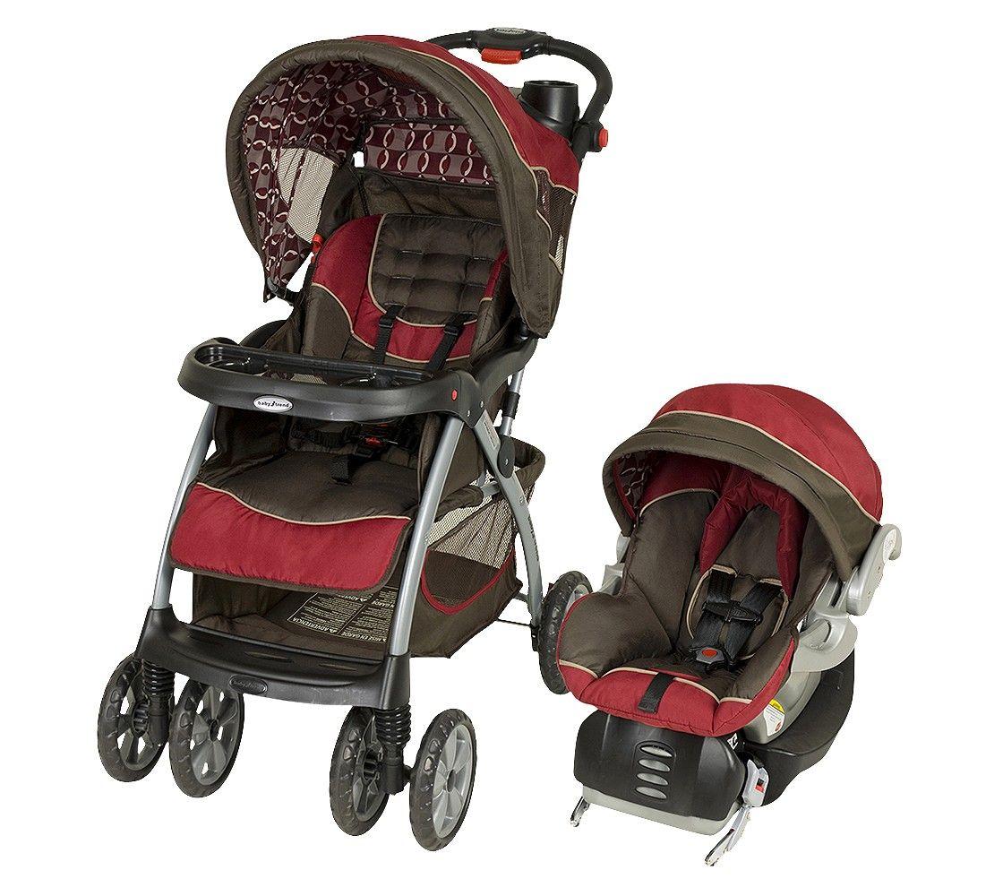 Baby Trend Stride Sport Travel System Cherry Chocolate