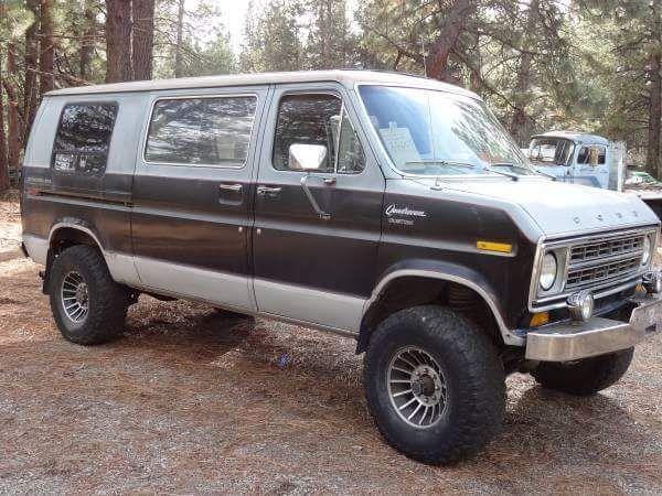 Ford Econoline Ford Van Custom Vans Cool Vans