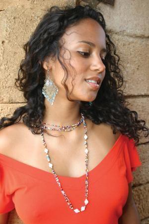 Afro Filipino Woman