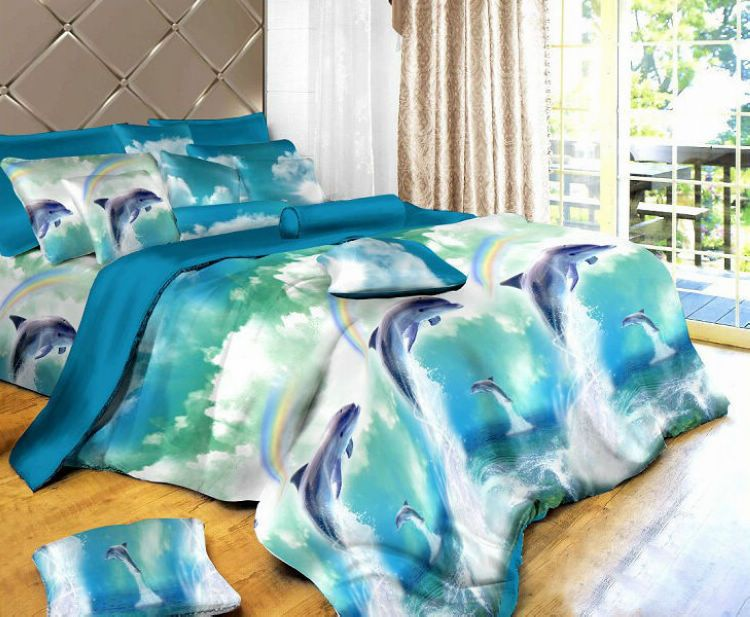 Dolphin Bedding Or Comforter Sets Dolphin Blue