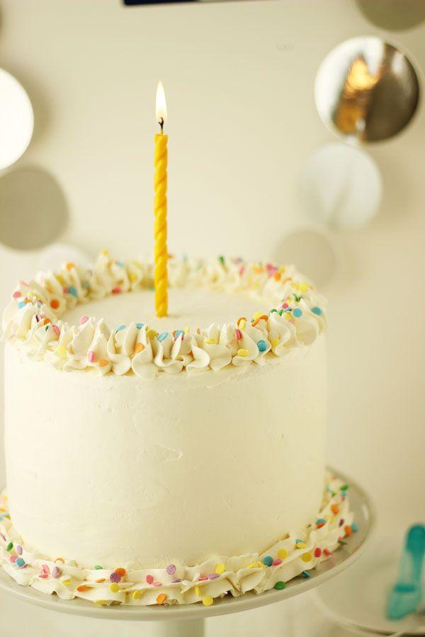 Cherry Vanilla Champagne Cake Recipe Champagne cake Champagne