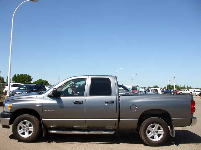 2008 Dodge Ram...nothing fancy, just a solid truck....hemi or 2500 series with a diesel....miss my 2001 2500 4x4 quad cab Cummins....diesel prices were killing me even back in 2006...