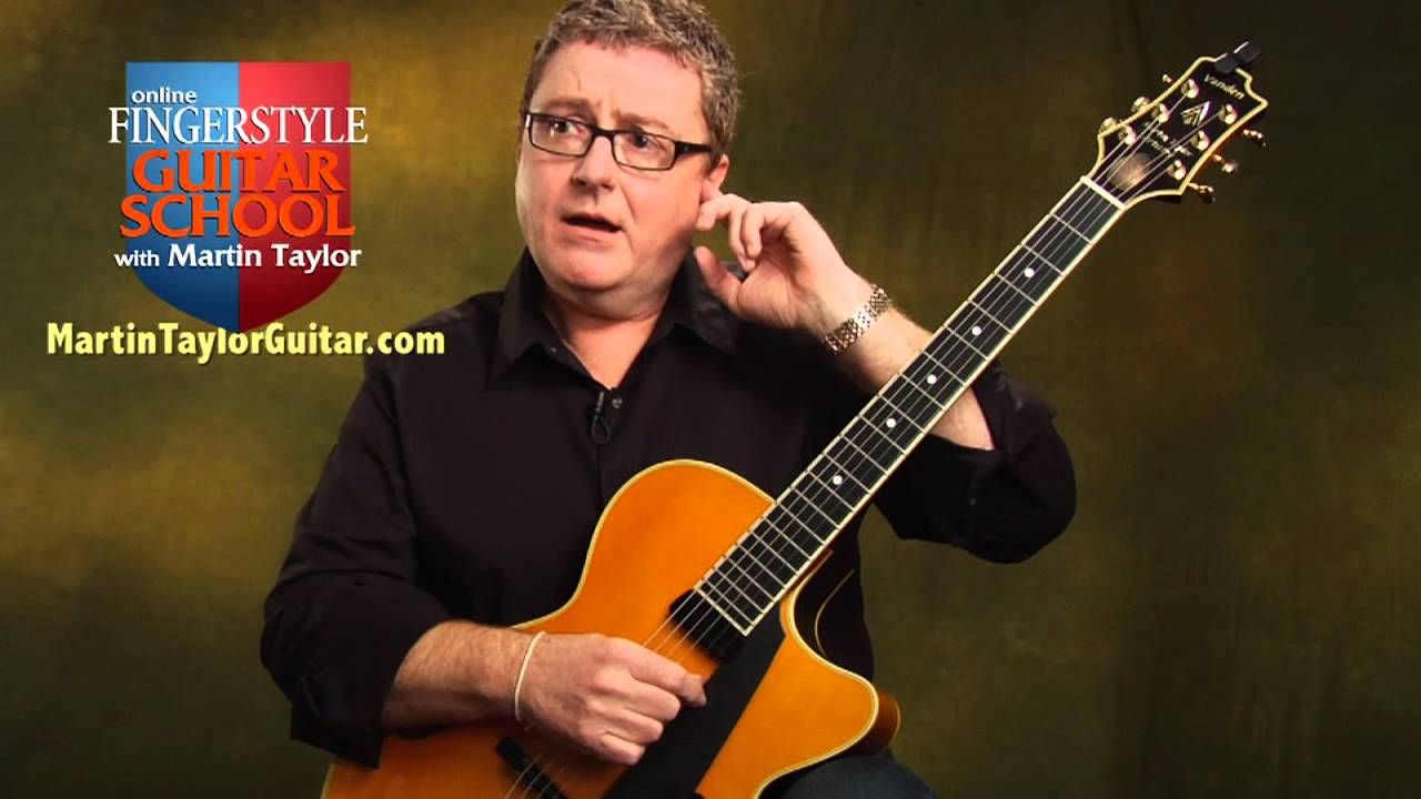 How To Tune A Guitar By Ear Guitar Tuning Lesson By Martin Taylor Guitar Tuning Guitar Acoustic Guitar