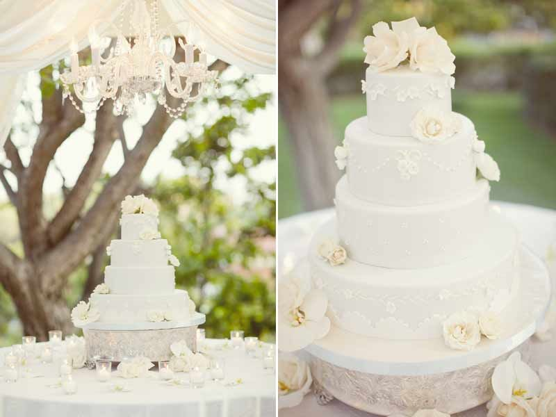 Pretty cake with a #chandelier over it