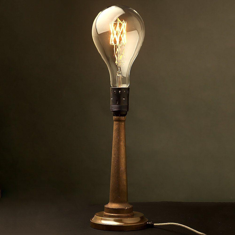Cast Brass Fire Hose Nozzle Table Lamp Ndash E40 Fire Hose In 2020 Fire Hose Hose Nozzle Table Lamp