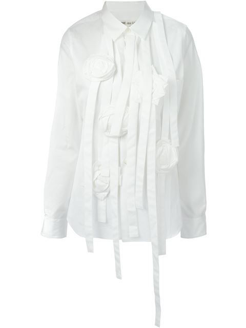 Shop Comme Des Garçons Strappy Shirt in A'maree's from the world's best independent boutiques at farfetch.com. Over 1500 brands from 300 boutiques in one website.