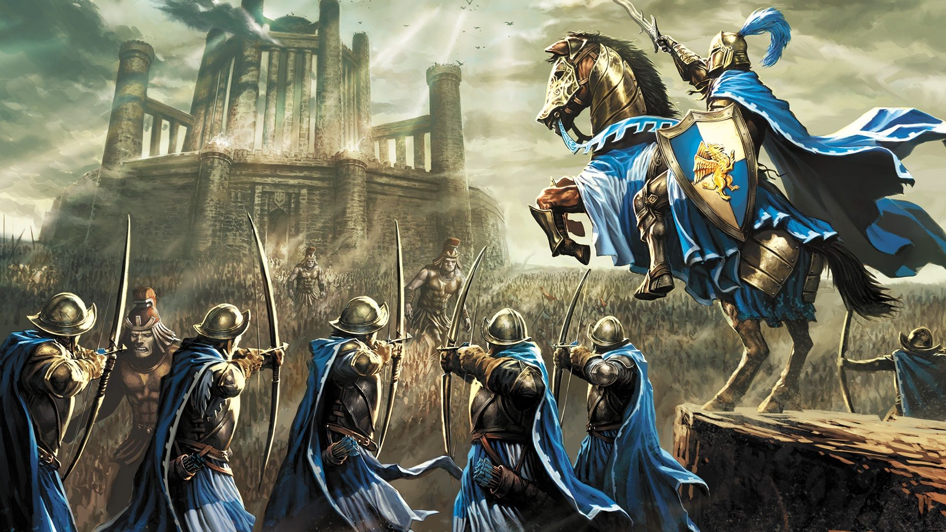 Download Free Heroes Of Might And Magic 3 Hd Mod Apk Horse Illustration Horse Wallpaper Hero