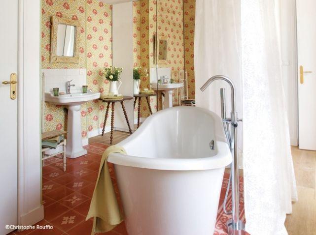 Meuble salle de bains ancien simon delaporte 2 Country French