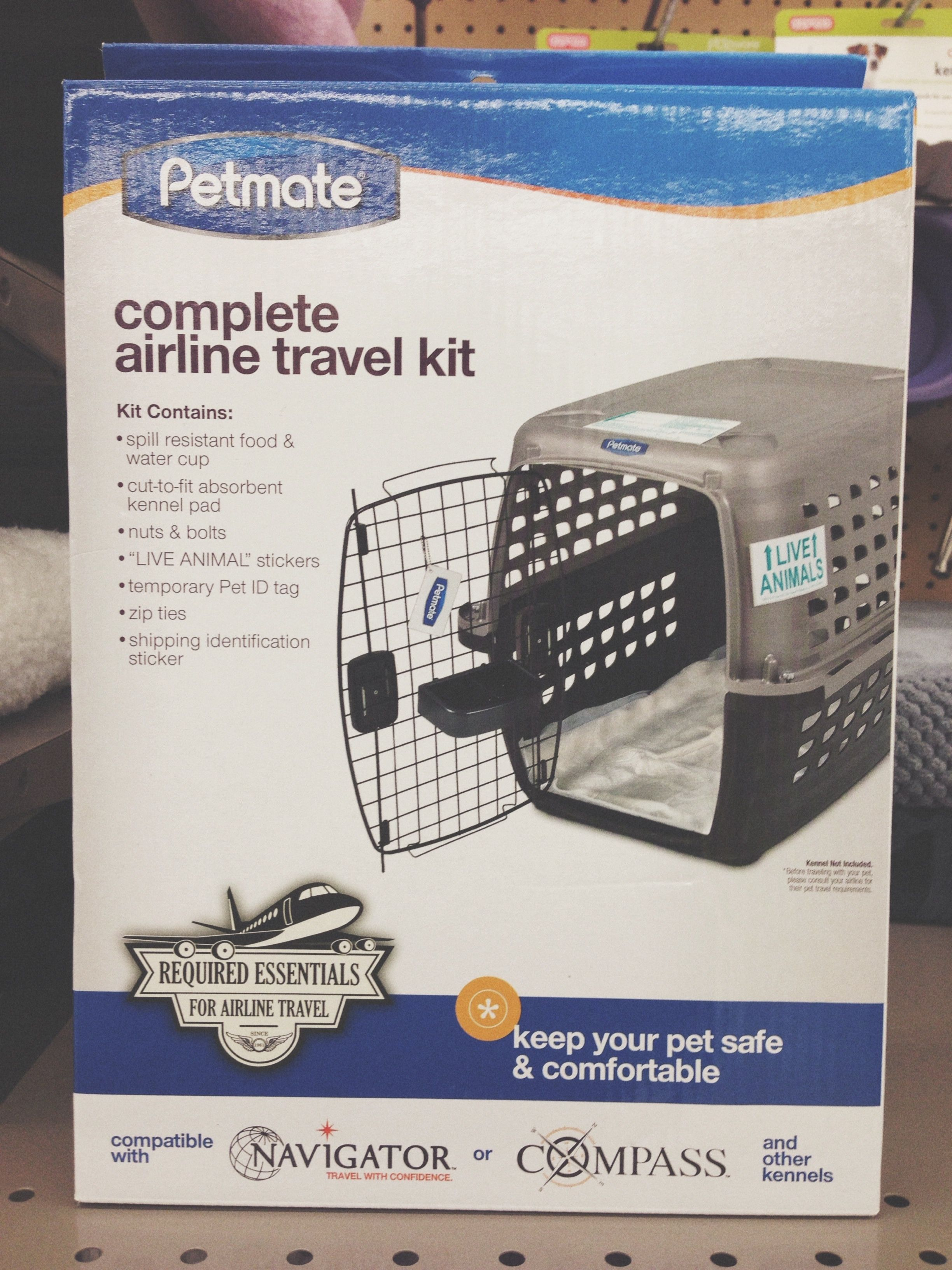 PCSing To Germany With Pets 101 Travel Kit // A perfect