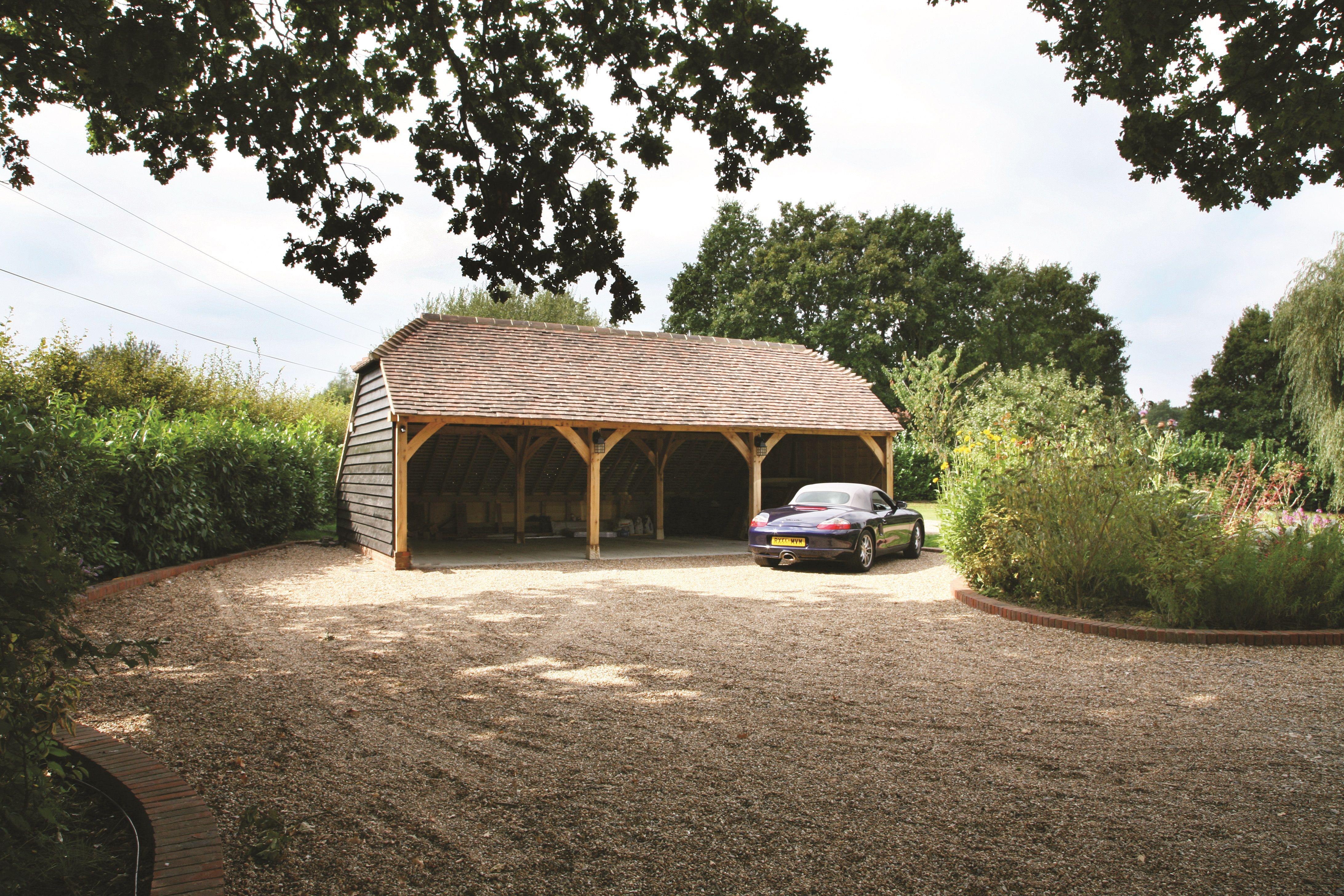 Three Bay Oak Framed Garage Kit! Self build DIY garages