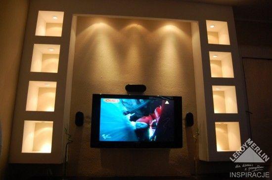 Tv Halogeny Pokoj Dzienny Forum Leroy Merlin Tv Flat Screen Merlin