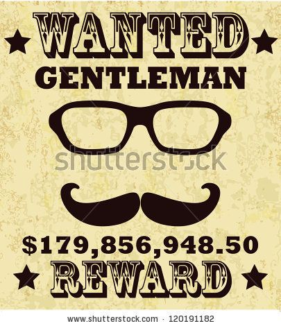 old-fashioned wanted poster - Google Search k krafts ideas - old fashioned wanted poster