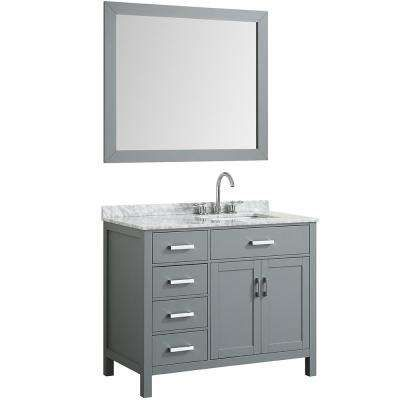 38 46 In Sink On Right Side Bathroom Vanities Bath The Home Depot Marble Vanity Tops Single Sink Bathroom Vanity Bathroom Sink Vanity