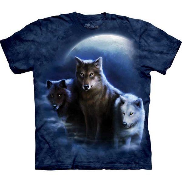 The Mountain Wolf T-shirt | Three Wolf Night
