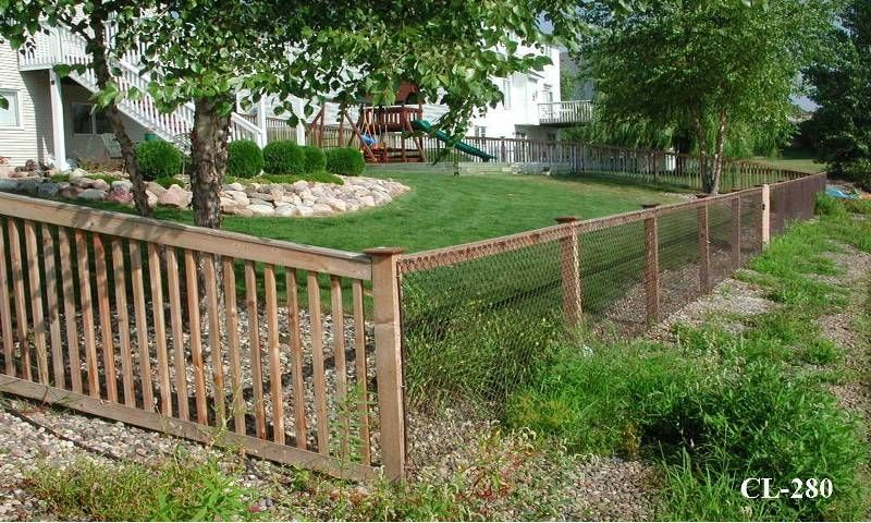 chain link fence decorate - Google Search | Backyard ...
