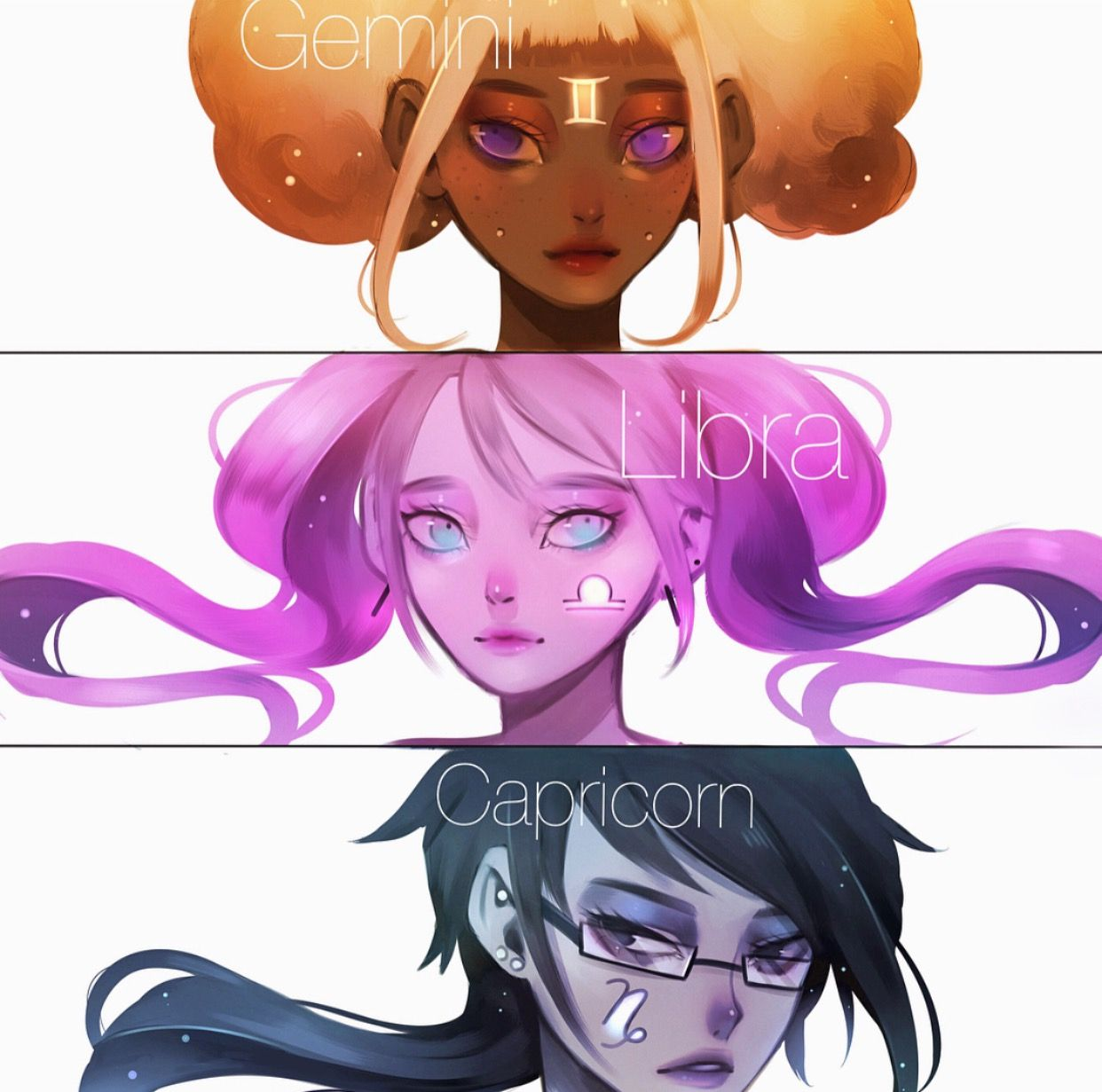 Anime Girl Zodiac Signs: Pin By Madison D On Zodiac