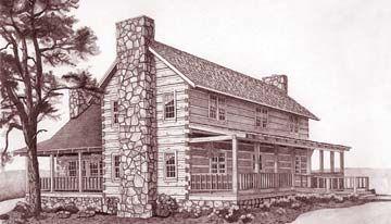 Stonemill Log Homes Prestwick Floor Plan Package