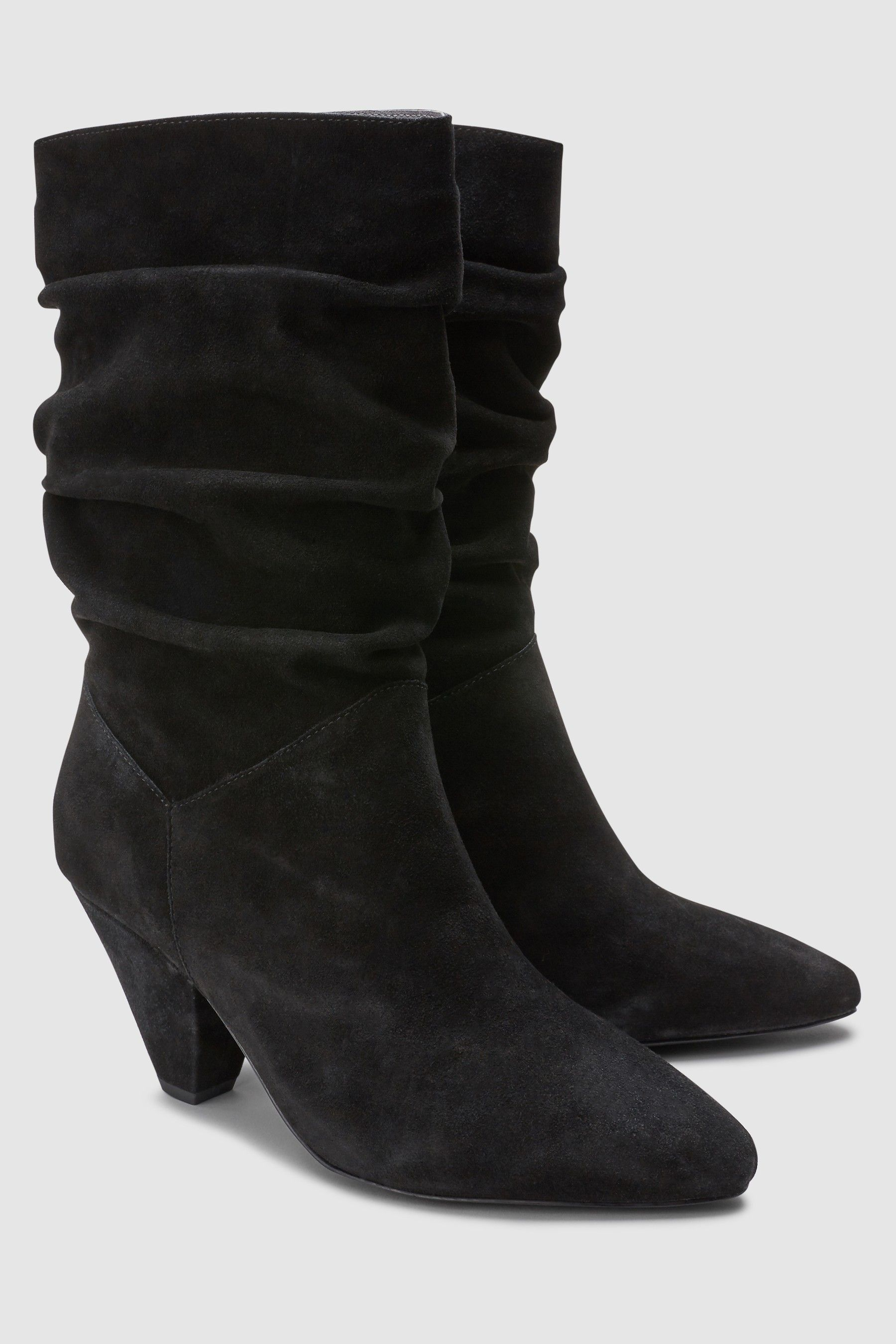 Womens Next Black Signature Cone Heel