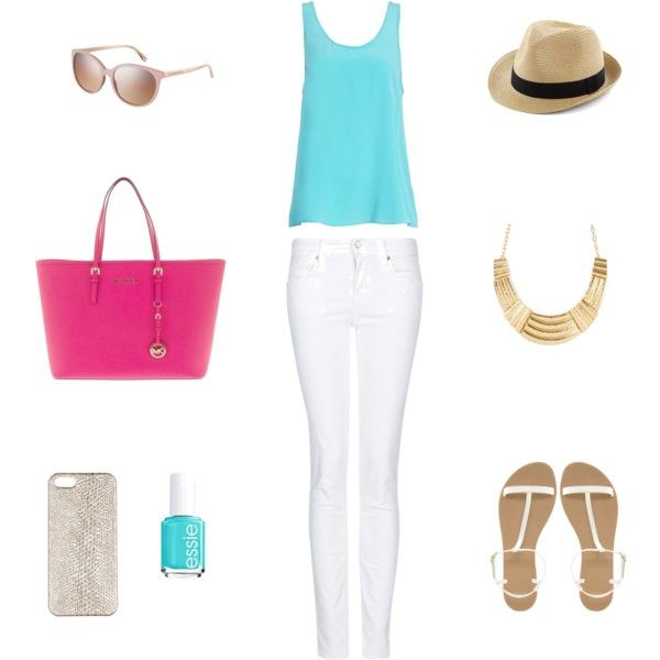 Summer outfit by www,classicallyb.com