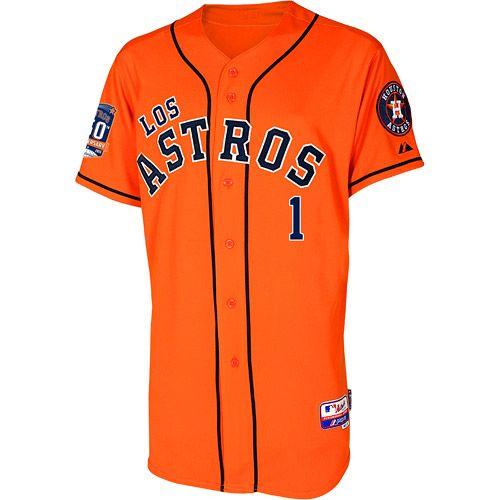 new product 14f79 b57be Houston Astros Authentic Carlos Correa Los Astros Jersey w ...