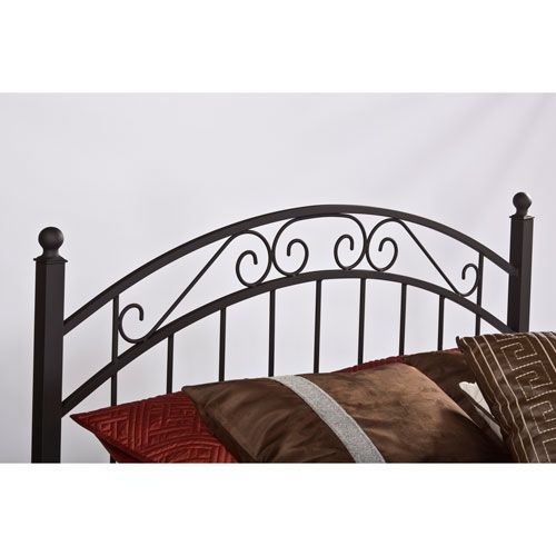 Hillsdale Furniture Willow Textured Black Full Headboard Only
