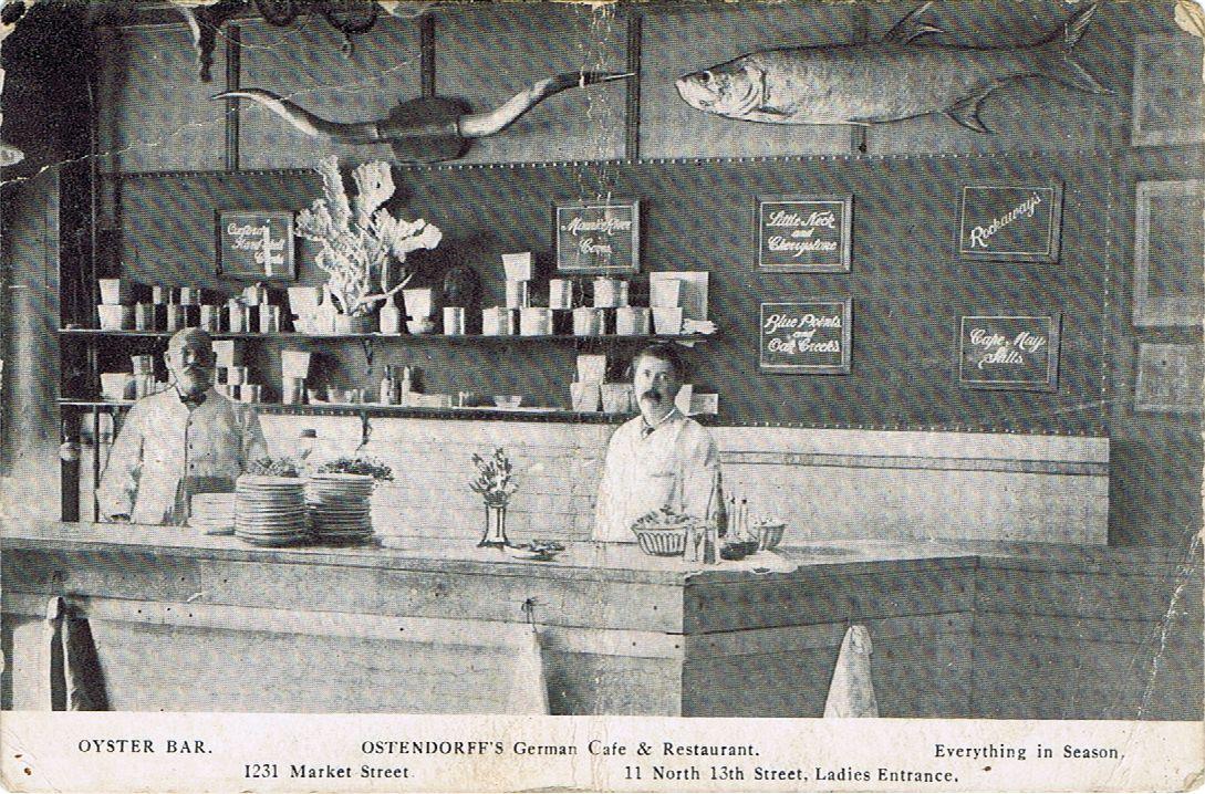 A View In Frederick Ostendorff S German Restaurant In