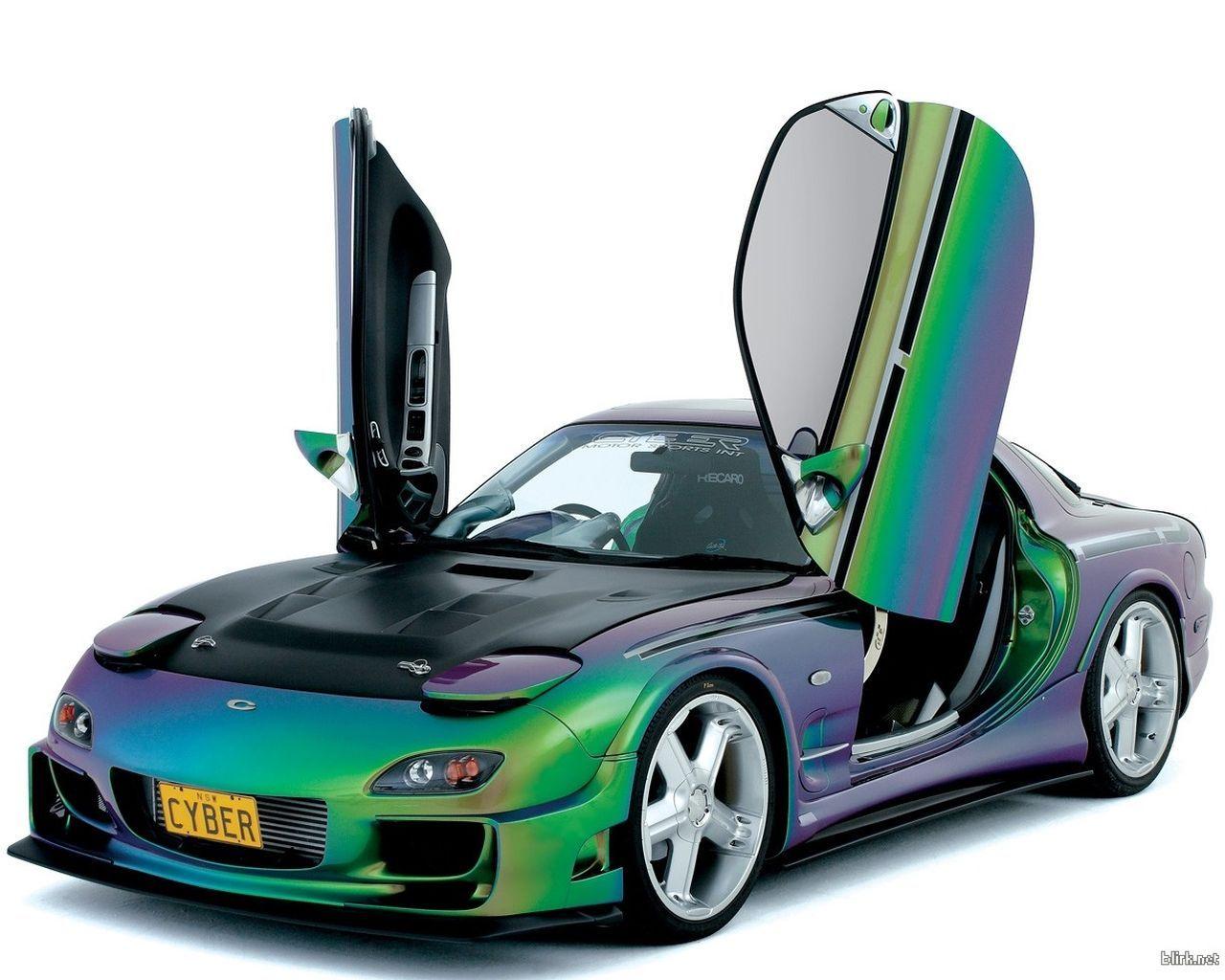 Chameleon paint job holographic car car paint jobs