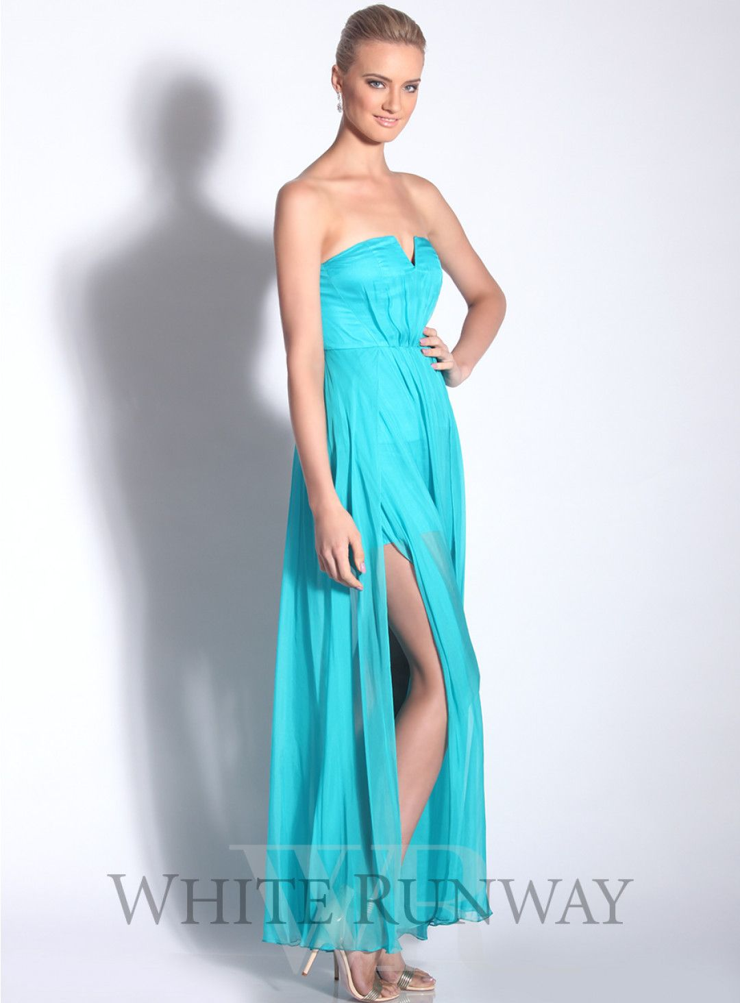 Exhale Silk Maxi Dress. A gorgeous full length dress by Australian ...