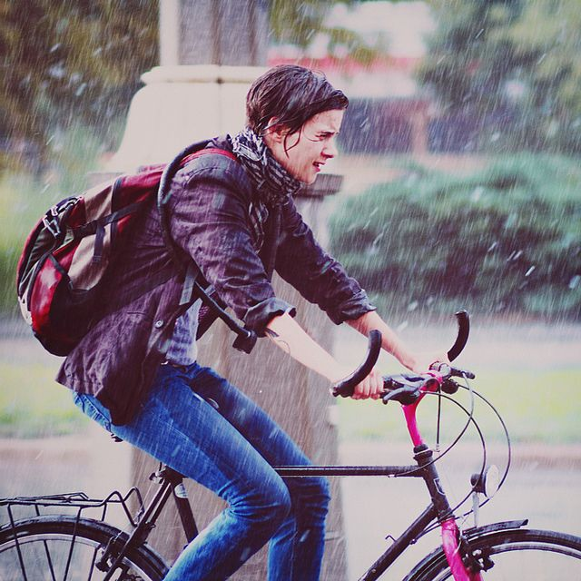 Some People Walk In The Rain Others Just Get Wet Rain Cycle