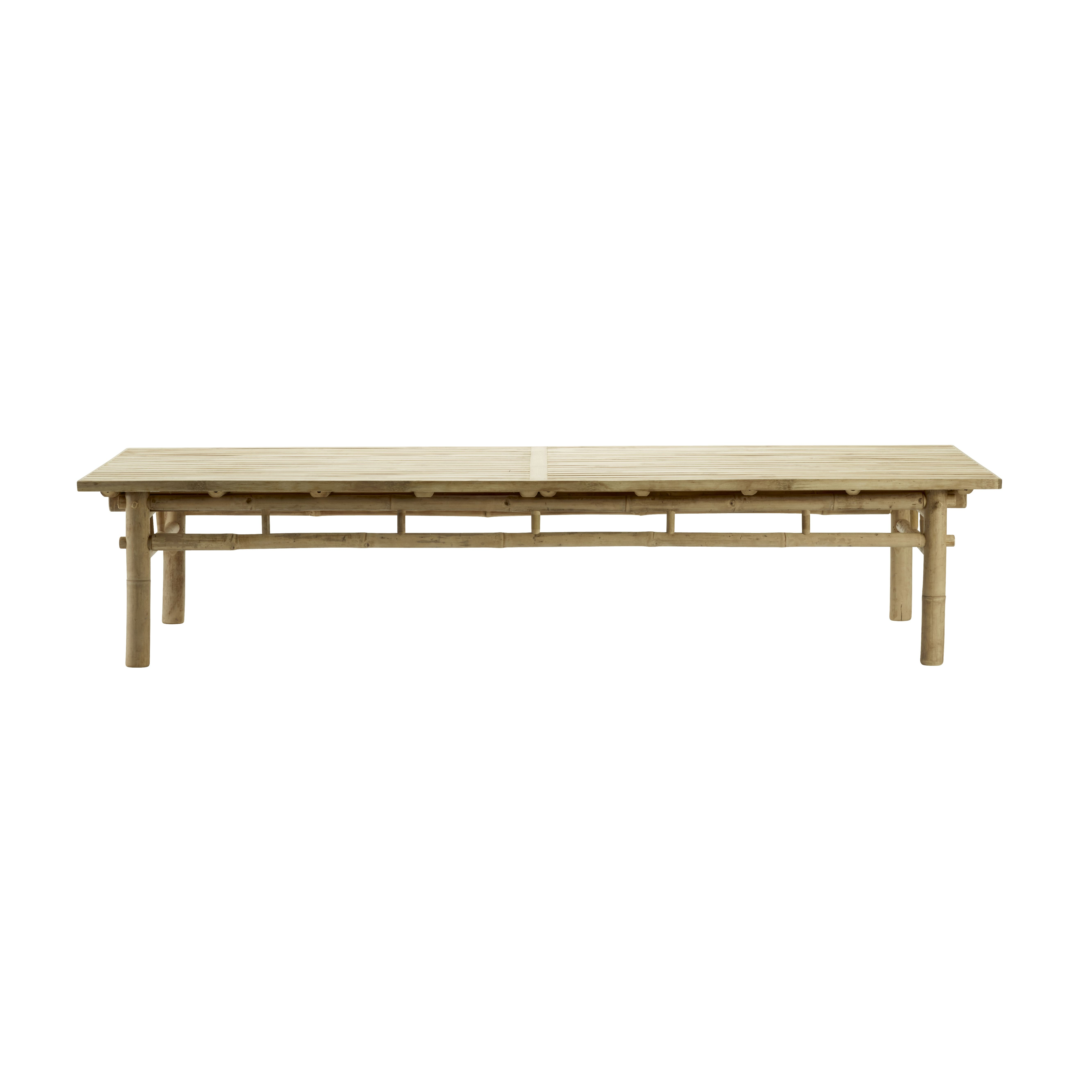 Bamboo Table 170 X 70 Cm Natural Bamboo Table Nordic Interior