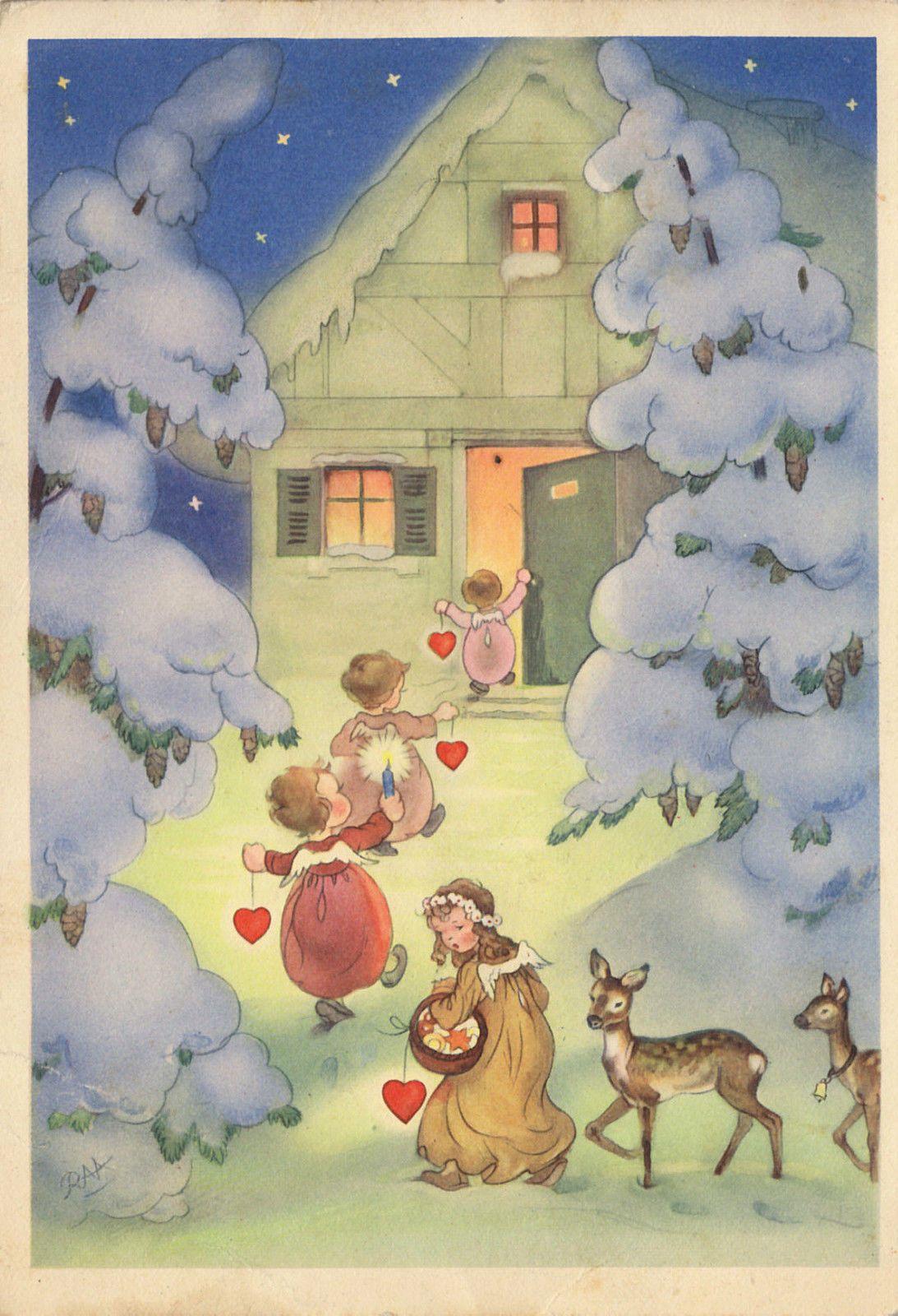 WEIHNACHTEN - Die Weihnachtsengelchen kommen - CHARLOTTE BARON RAA ...
