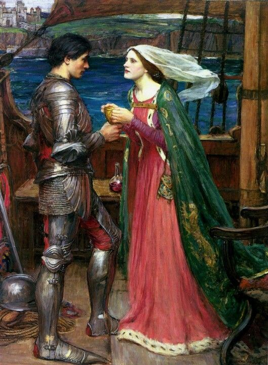 Tristan & Isolde...waterhouse