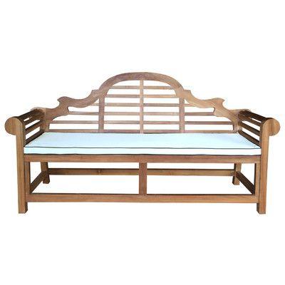 ChicTeak Lutyens Outdoor Triple Bench Cushion Size: Large