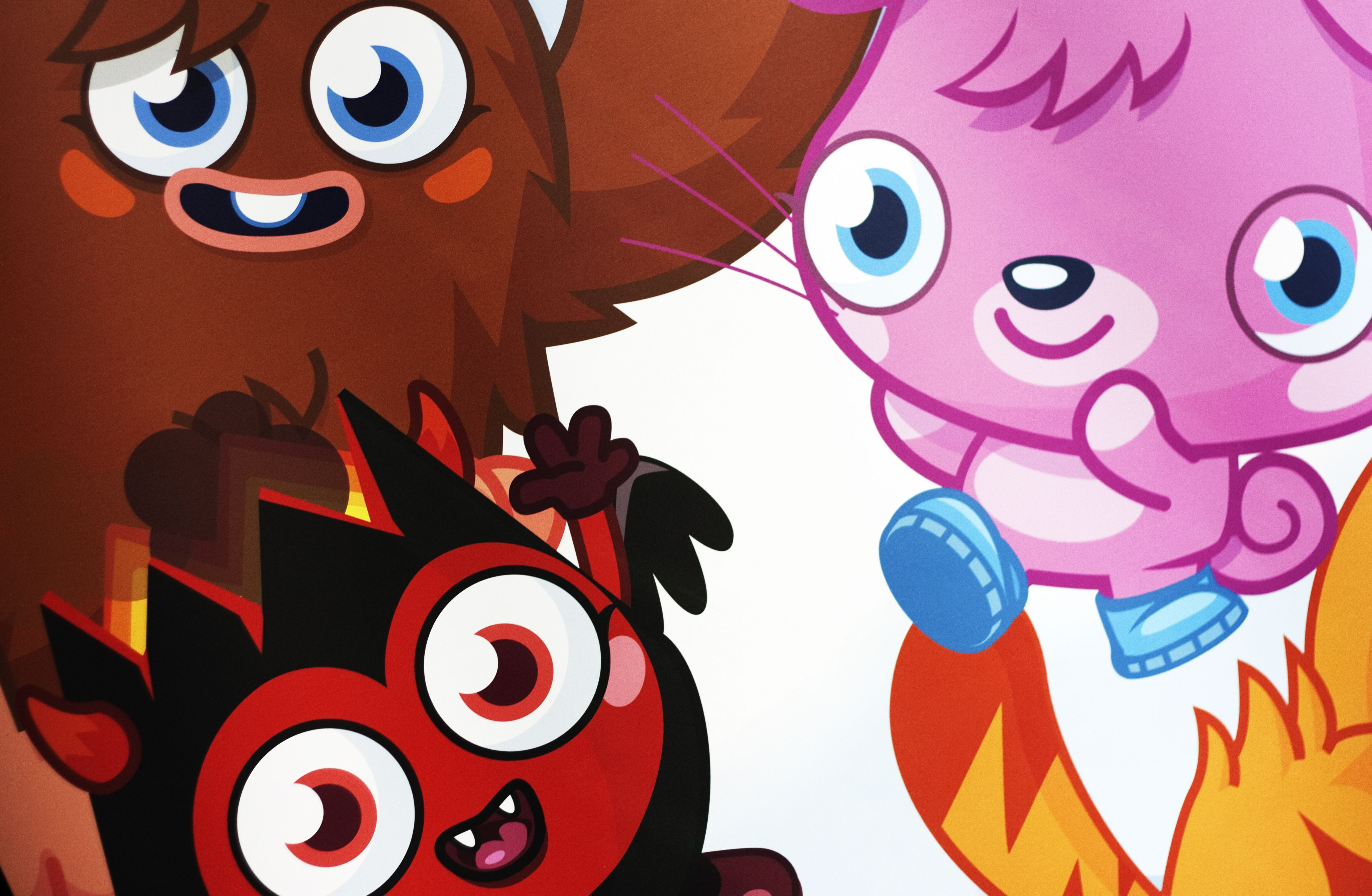 Moshi Monsters at the Millbank Media Centre