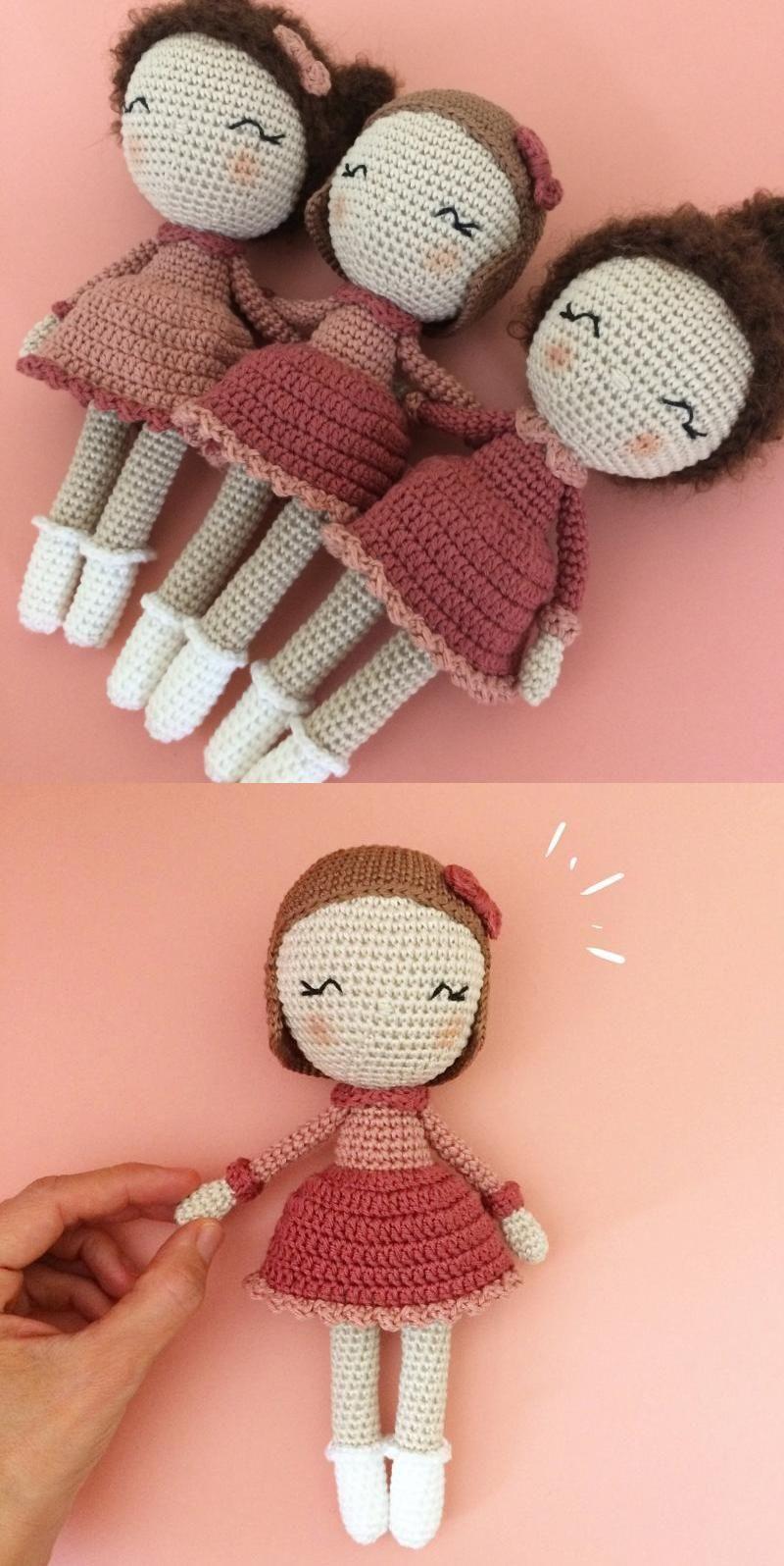 Part 2: Amigurumi Emma Bebek Yapılışı ( Free Crochet Pattern) Eng ... | 1596x800