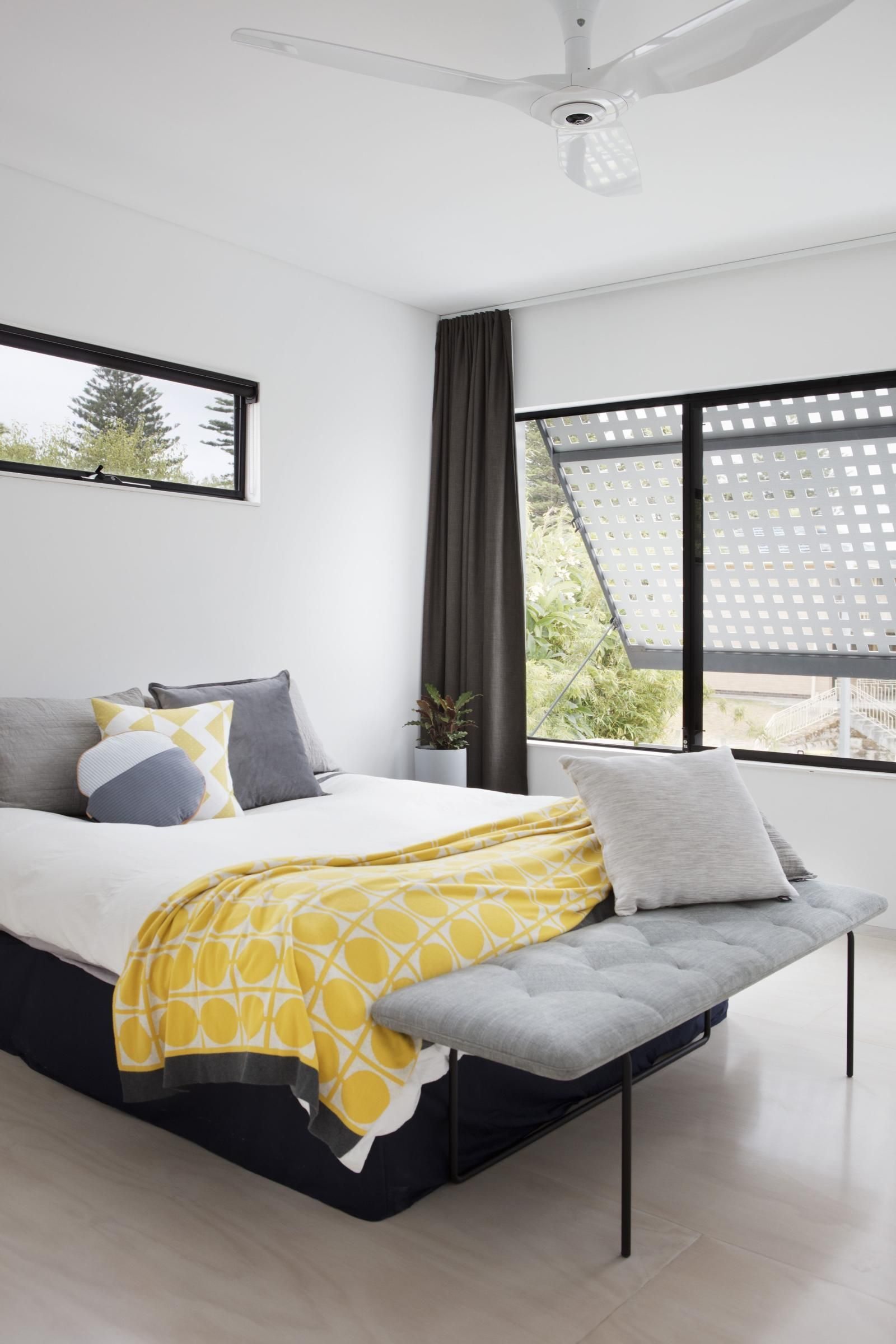 Bedroom Detail  Blinco St Residence By Philip Stejskal Architecture,