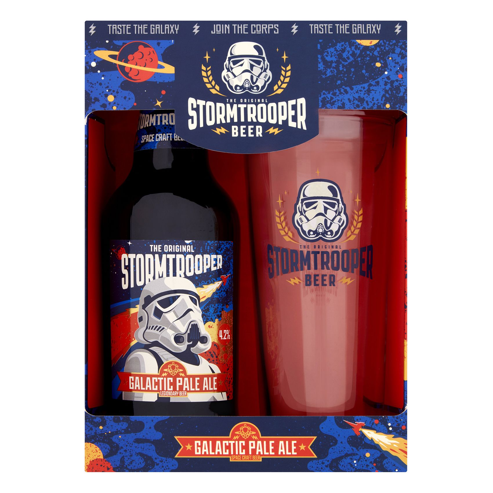 Stormtrooper Pale Ale 500ml Glass Gift Set Pale Ale Ale Glass Gifts