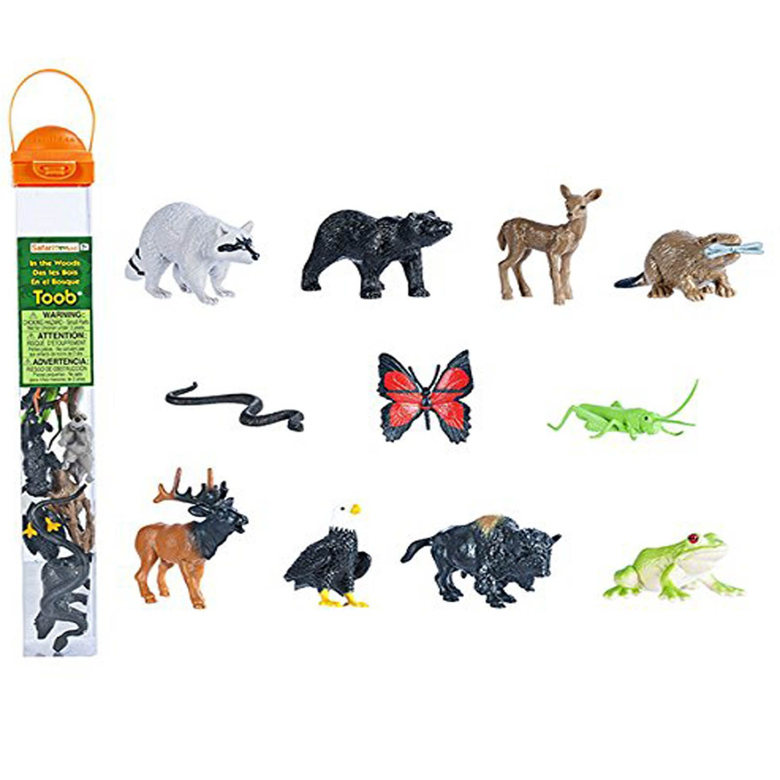 In The Woods Toob Mini Figures Safari Ltd Safari