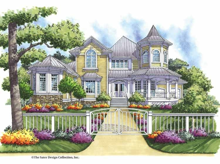 Victorian Style House Plan 4 Beds 3 5 Baths 3096 Sq Ft Plan 930 165